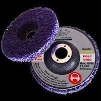 Poly Strip Discs