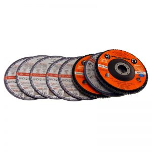 115mm 45 Mixed Pack 8 Discs - Cutting, Flap, Grinding