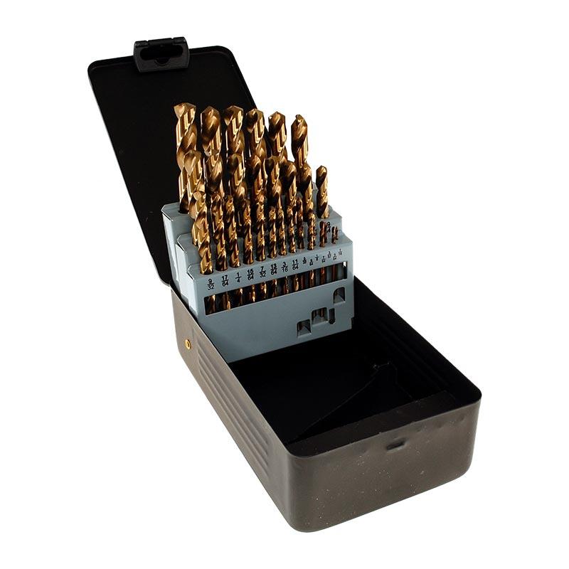 Cobalt Drill Bit Set >> 29pc Imperial Cobalt Drill Bit Set For Stainless Steel Smith Arrow